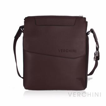 Túi xách nam Verchini màu nâu 004364