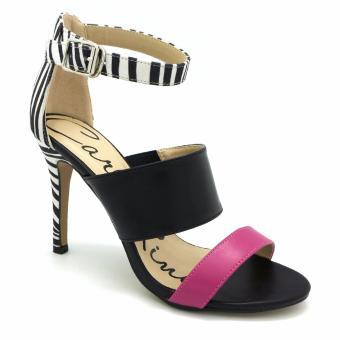 Giày Sandal cao gót Carlo Rino 333040-207-08 (màu đen)