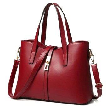 Túi xách nữ Queen kèm dây đeo Letin Fashion Handbags T6868-20-250 (Đỏ)