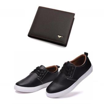 Bộ giày và ví da phong cách thời trang DT2828