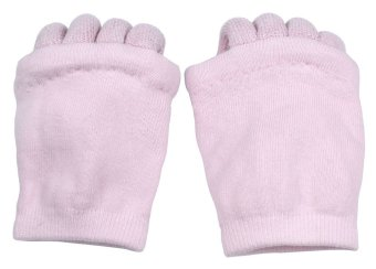 niceEshop Lady Comfy Toes Foot Alignment Socks Happy Feet Socks (1 Pair,Light Pink) - intl