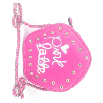 Túi đeo chéo nữ Pink Latte TX1004 (Hồng)