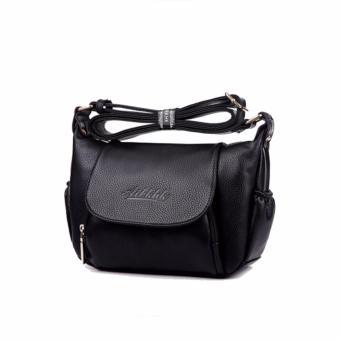 Túi xách nữ da thật cao cấp AIBKHK chính hãng AIB021 (Đen) - 2737549