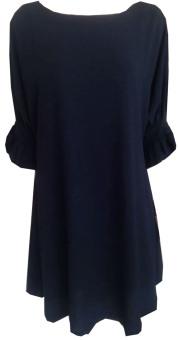 Đầm Công Sở D-324 Blue Tie (Xanh)