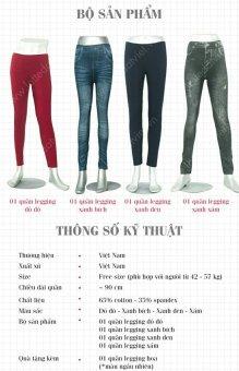 Bộ 4 quần legging MOORE (Tặng 1 quần legging)