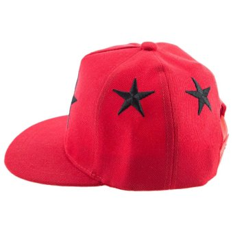 Five-pointed Stars Embroidery Children Baseball Cap - intl