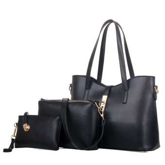 High Quality 3PCS Set Women Shoulder Bag Handbag Clutches - intl