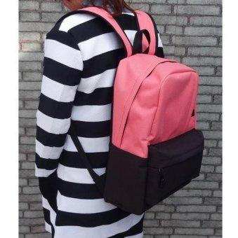 Ba lô thời trang nam nữ cao cấp db1137la (Cam hồng)