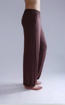 2017 NEW Men and Women Modal bloomers pants &home tai chi sweat Pants plus size pants both 3XL(Brown) - intl