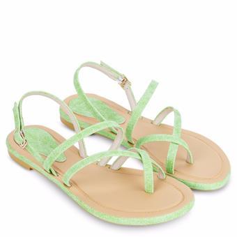 Sandal xẹp nữ thời trang SX07057Gr