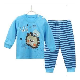 Bộ đồ dời cotton cho bé Family Shop TET06 (Xanh)