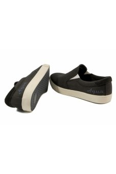 Giày lười nam Aqua Sportswear A32-122 (Đen)