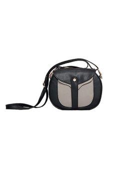 Túi đeo chéo Alamode Paris ALM 4469 (đen pha xám)(One size)
