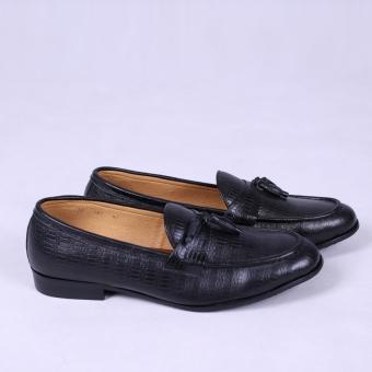 Giày Lười Da Thật Leo Luxury LG107