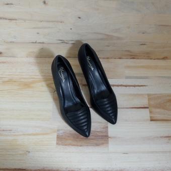 Giày cao gót UNI 0735 (Đen)