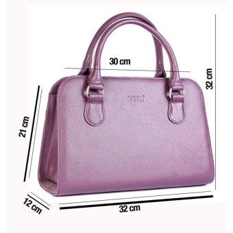 Túi xách nữ hàng hiệu da thật cao cấp VNLTX1LM25T (Tím)