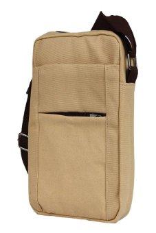 HKS Mens Shoulder Bag (Beige) - intl