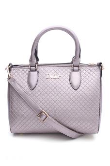 Túi đeo chéo hình hộp xinh xắn Vinadeal A28 (Xám)