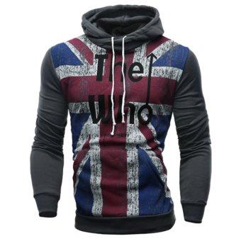 New Mens Casual Fleece Cardigan - intl