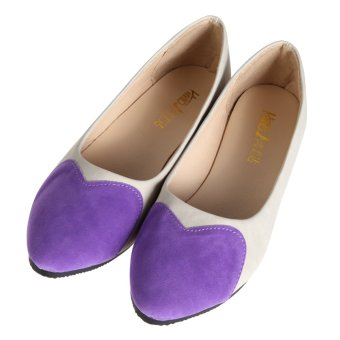 Women's Ballet Single Shoes (Purple) - INTL