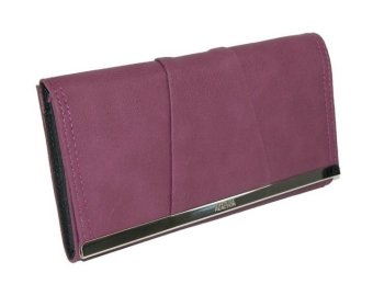 Ví da cầm tay nữ Kenneth Cole Reaction Barcelona Women's Matte PVC Snap Clutch Wallet (Mỹ)