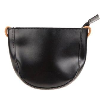 Woman fringed shoulder Messenger packet bags(Black) - intl