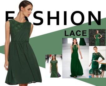 Sunweb FINEJO Ladies Women Sleeveless Floral Patchwork Sundress Slim Casual Party Chiffon Calf Pleated Dress ( Dark green ) - intl