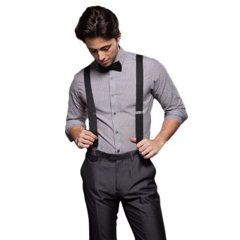 New Fashion Men Women Clip on Suspenders Elastic Y-Shape Back Formal Unisex Adjustable Braces