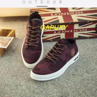 Giày Sneaker thể thao nam Gapuky GA3802 (Đỏ đô)