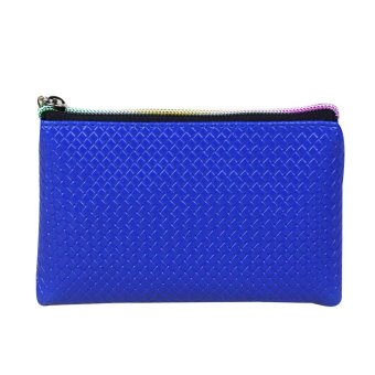 Women Fashion Leather Wallet Blue