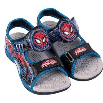 Giày Sandal Bé Trai Biti's Spider Man Người Nhện DTB062711XDG (Xanh dương)