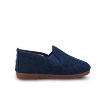 Giày Lười Flossy Pamplona Denim (Xanh Dương Đậm)