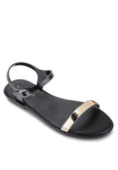 Giày sandal nữ Holster GLOW (Đen)