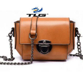 Túi đeo chéo nữ phong cách cá tính THÀNH LONG TL8088 1( nâu)