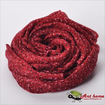 Khăn choàng cổ họa tiết hoa nhí KHN247