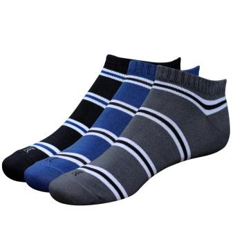 Combo 3 đôi tất vớ nam Cotton cổ ngắn Donakein - High quality products of Vietnam