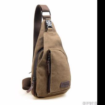 Túi đeo chéo vai cá tính (Nâu)