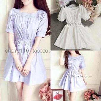 Váy nữ trễ vai thời trang - CN51