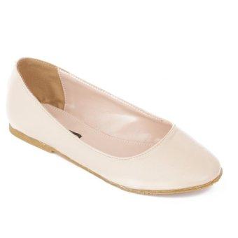 Giày búp bê Dolly & Polly DL01 (Be mịn)
