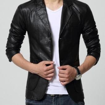 Áo khoác vest da nam - LV1322