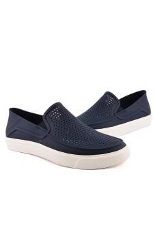 Giày lười nam Crocs CitiLane Röka Slip-on M Navy/White 202363-462 (Xanh Navy)