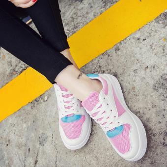 giày nữ sneaker BGTH310 (HỒNG)