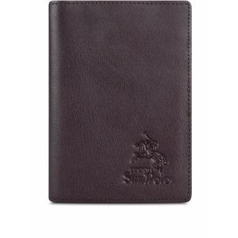 Ví PassPort Da Bò SunPoLo WS09N (Nâu)
