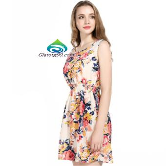 Váy Đầm Nữ Voan Hoa Thời Trang Cao Cấp TL6343