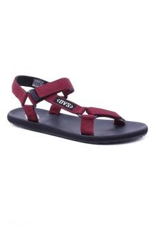 Giày Sandal nữ DVS WF041 (Đỏ đô)