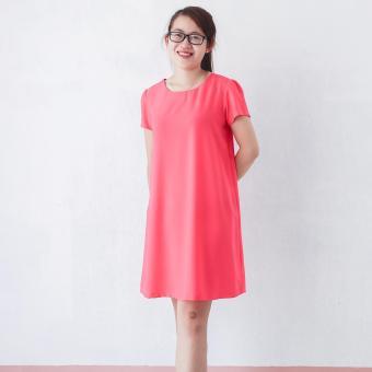 Đầm bầu thiết kế Lê Dương - nơ sau lưng
