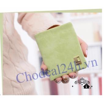Bóp tiền nhỏ gọn cho Nữ VN02 ( xanh lá nhạt)