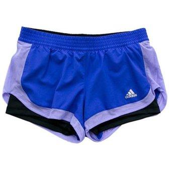 Quần short nữ Adidas S02046 (Xanh)