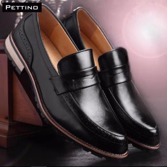 Giày Lười Nam Cao Cấp - Pettino GL09 (đen)