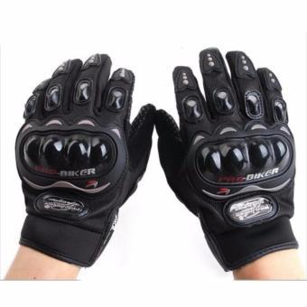 Găng tay dài ngón Probiker chuyên phượt (Đen)